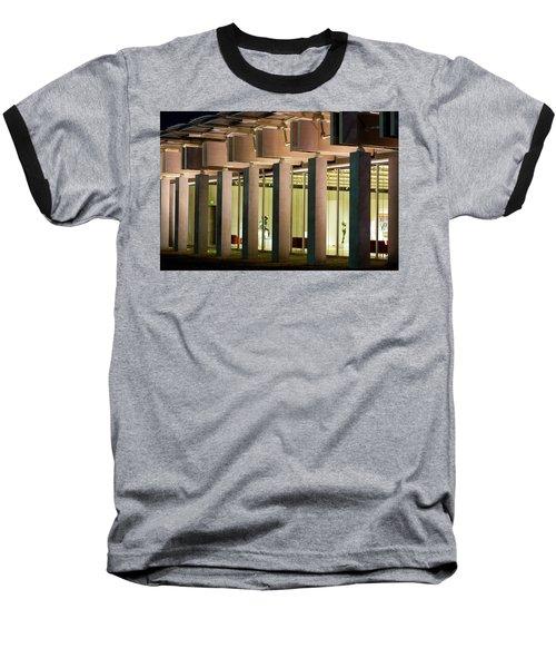 Renzo Piano Building Kimball Museum Baseball T-Shirt