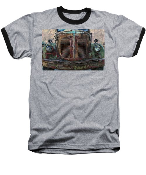 Reo Speedwagon - 2 Baseball T-Shirt by Ed Hall