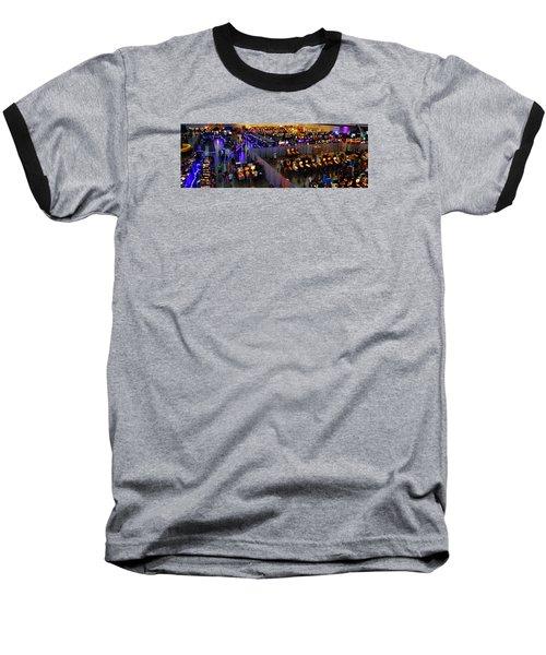 Replay Fx #7 Baseball T-Shirt by William Bartholomew