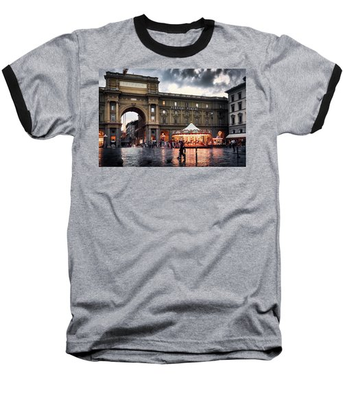 Republic Square In The City Of Florence Baseball T-Shirt