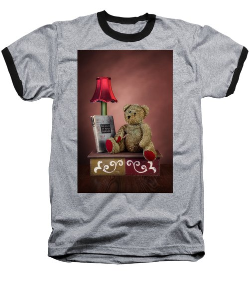 Baseball T-Shirt featuring the photograph Required Reading by Tom Mc Nemar