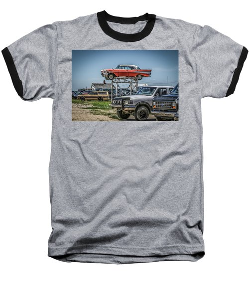 Reserved Parking Baseball T-Shirt by Ray Congrove