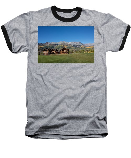 Residences In Mountain Village -- A Planned Community Adjacent To Telluride Baseball T-Shirt by Carol M Highsmith