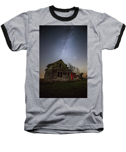 Baseball T-Shirt featuring the photograph   Resident Evil by Aaron J Groen