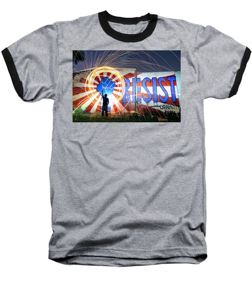 Resist Baseball T-Shirt