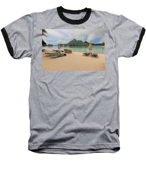 Resort Life Baseball T-Shirt by Sharon Jones