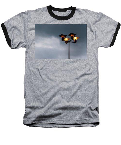 Responding To Light 2 - Baseball T-Shirt