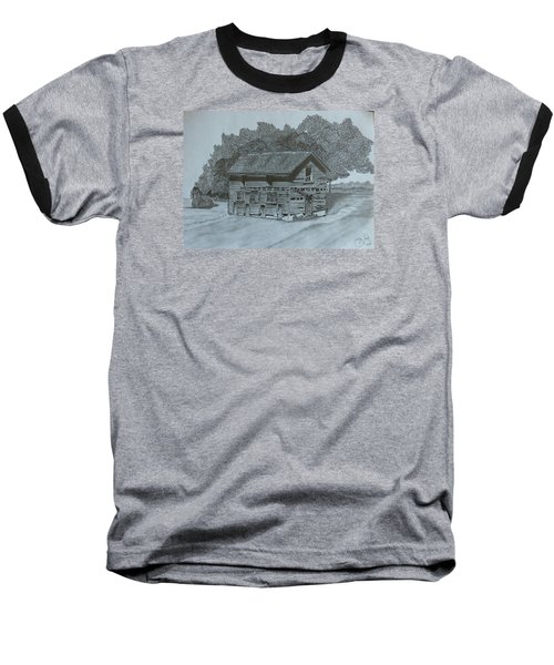 Rest In Pieces  Baseball T-Shirt by Tony Clark