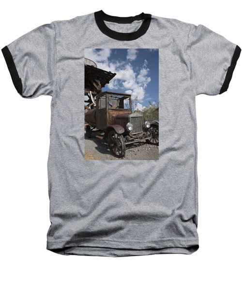 Rest Stop Baseball T-Shirt by Annette Berglund