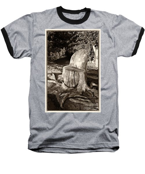 Baseball T-Shirt featuring the photograph Rest Stop by Vinnie Oakes
