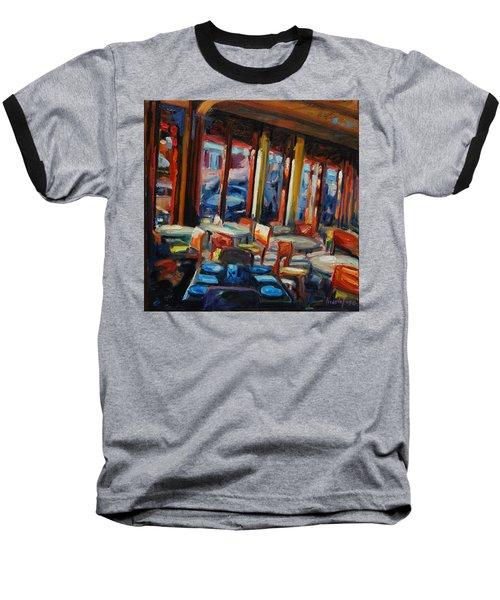 Restaurant On Columbus Baseball T-Shirt