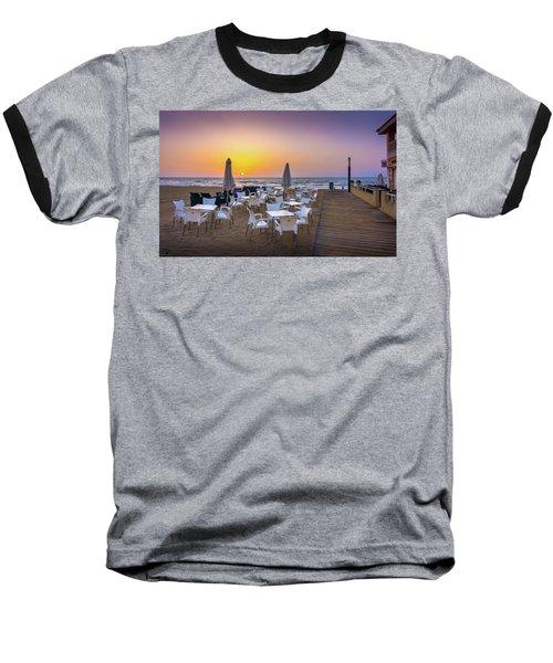 Restaurant Sunrise, Spain. Baseball T-Shirt