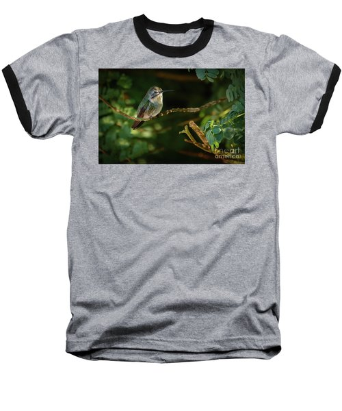 Baseball T-Shirt featuring the photograph Resting Anna by Robert Bales