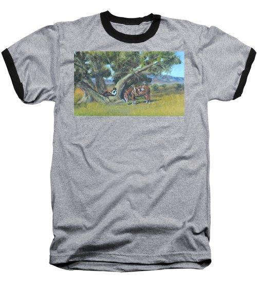 Resting Cowboy Painting A Study Baseball T-Shirt