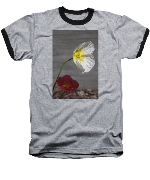 Resting In Your Shade Baseball T-Shirt by Morris  McClung
