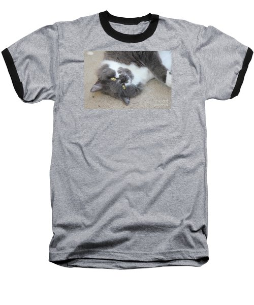 Resting Ms Mustache Baseball T-Shirt