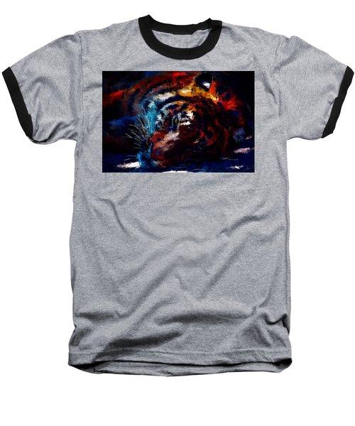 Resting Tiger Baseball T-Shirt