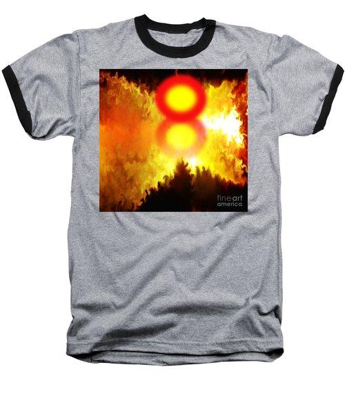 Resurrection Day For The Perished Baseball T-Shirt by Belinda Threeths
