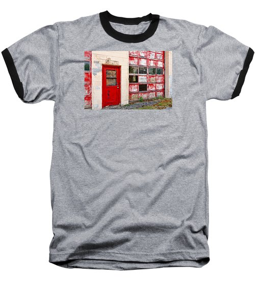Baseball T-Shirt featuring the photograph Retired Garage by Christopher Holmes