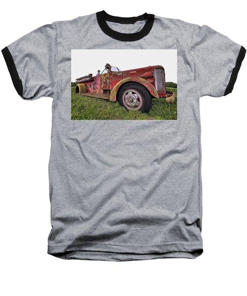 Retired Hero Baseball T-Shirt