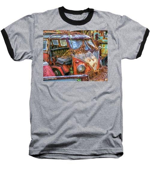 Retired Vw Bus Baseball T-Shirt