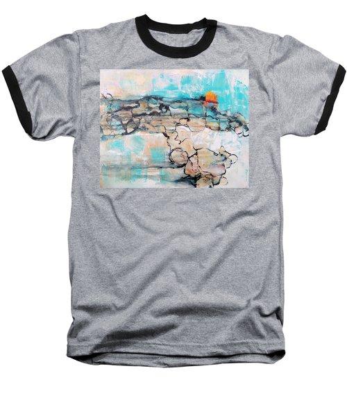 Retreat Baseball T-Shirt by Mary Schiros