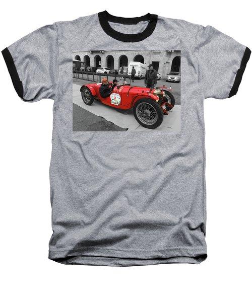 Retro Auto Fiat Balilla Baseball T-Shirt