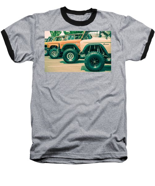 Retro Bronco Heaven Baseball T-Shirt