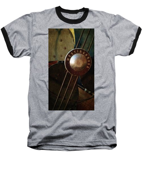 Classic Desk Fan  Baseball T-Shirt by Michelle Calkins