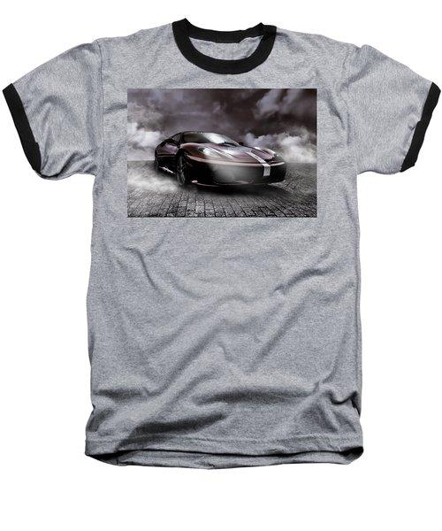 Retro Sports Car - Formule 1 Baseball T-Shirt