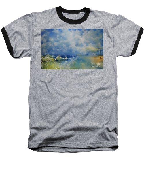 Retrospection Seascape Baseball T-Shirt