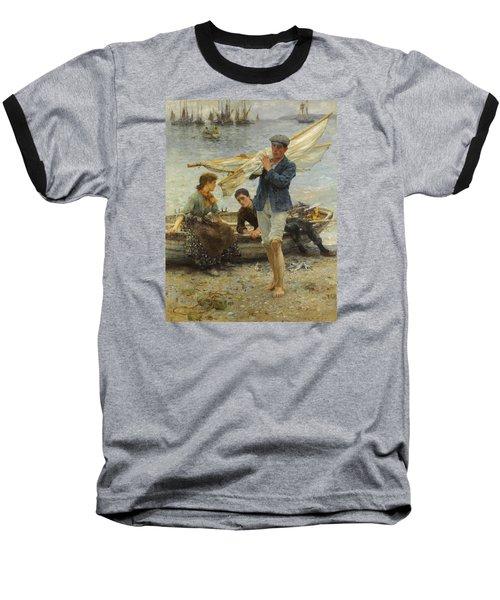 Return From Fishing Baseball T-Shirt