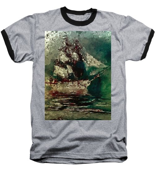 Return Of The Flying Dutchman Baseball T-Shirt