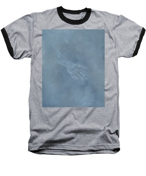 Baseball T-Shirt featuring the painting Return To Dust by Judith Rhue