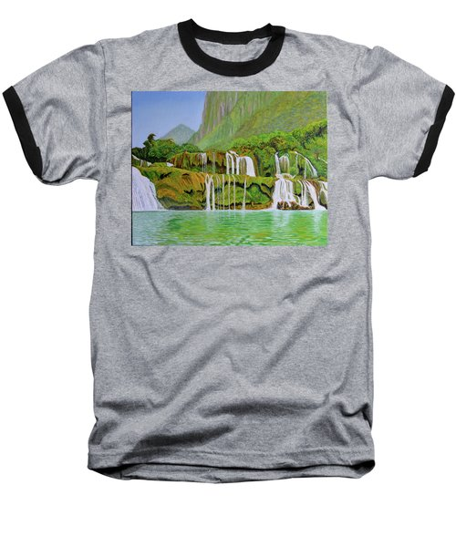 Returned To Paradise Baseball T-Shirt by Thu Nguyen