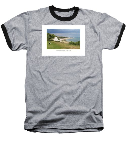 Returning From Cow Gap Baseball T-Shirt
