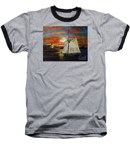 Returning Home Baseball T-Shirt