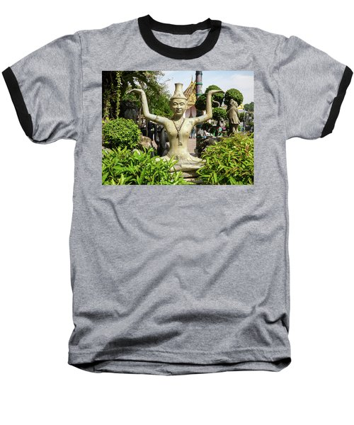 Reusi Dat Ton Statue At Famous Wat Pho Temple Baseball T-Shirt