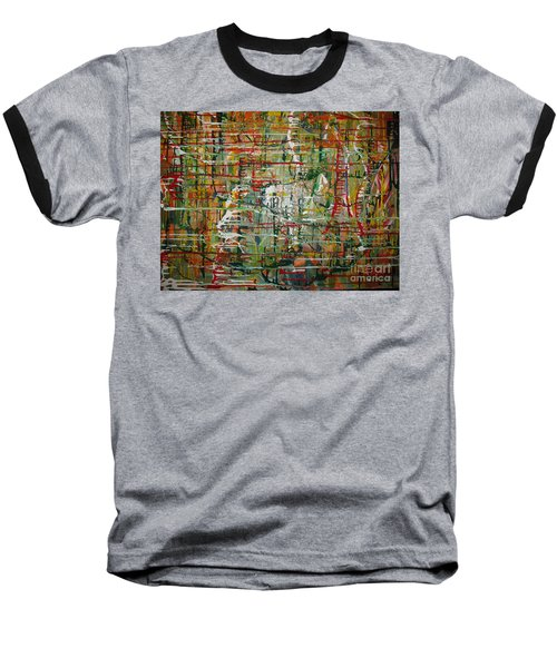 Baseball T-Shirt featuring the painting Revelation by Jacqueline Athmann