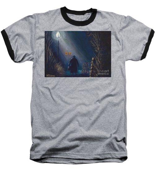 Reverend Hadley Jorgensen Baseball T-Shirt