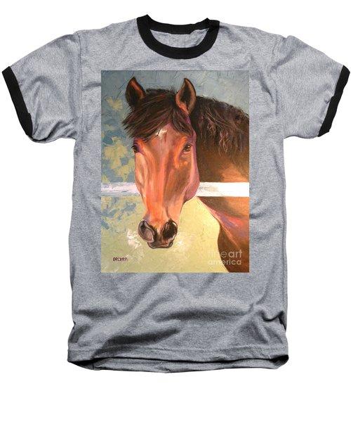 Reverie - Quarter Horse Baseball T-Shirt