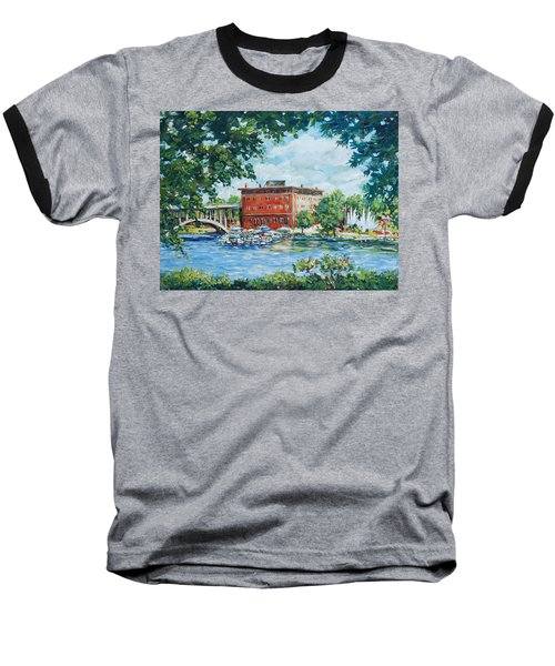 Rever's Marina Baseball T-Shirt