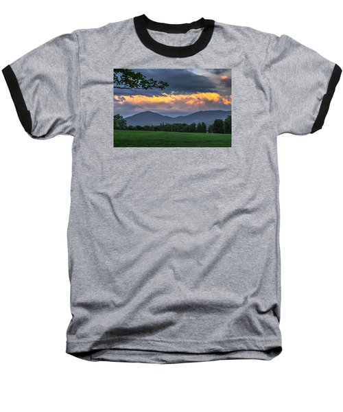 Reverse Sunset Baseball T-Shirt