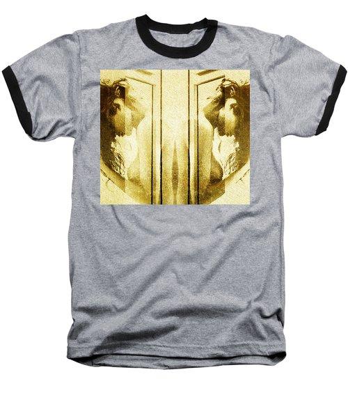 Reversed Mirror Baseball T-Shirt