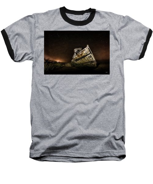 Baseball T-Shirt featuring the photograph Reyes Shipwreck by Everet Regal