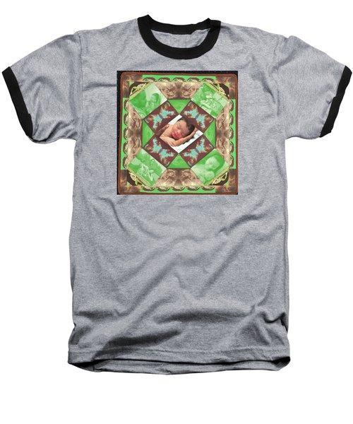 Reynard Quilt Baseball T-Shirt
