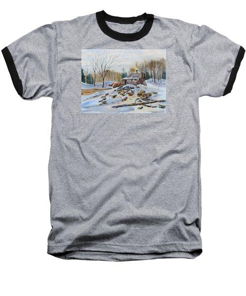 Reynold's Sugar Shack Baseball T-Shirt by David Gilmore
