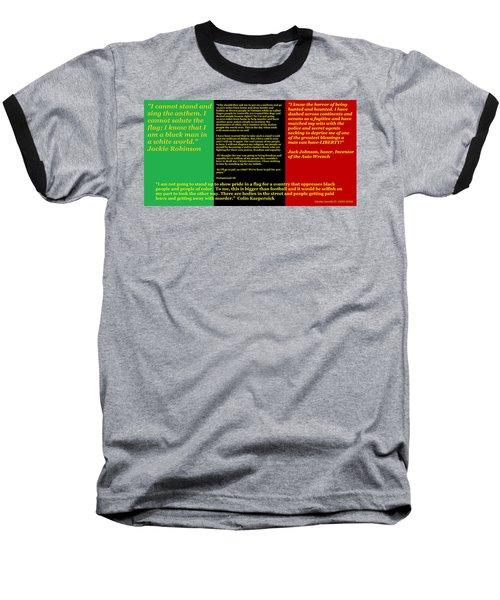Colin Kaepernick Rbg Baseball T-Shirt