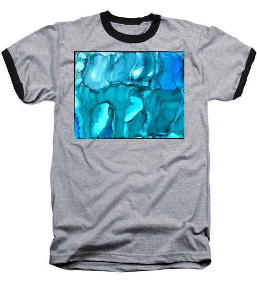 Rhabsody In Blue Baseball T-Shirt