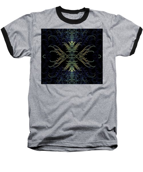 Rhapsody In Blue And Gold Baseball T-Shirt